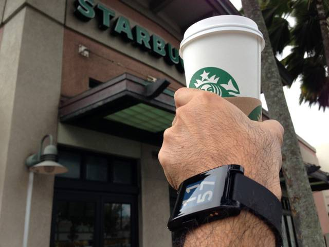 Paying in Bitcoin with Your Pebble Watch at Starbucks: The Future of Payments Is Here