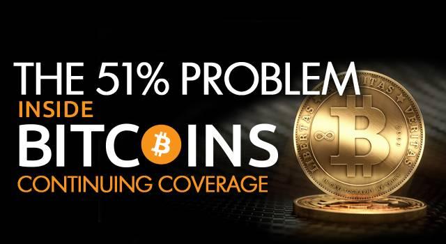 bitcoin 51 percent problem