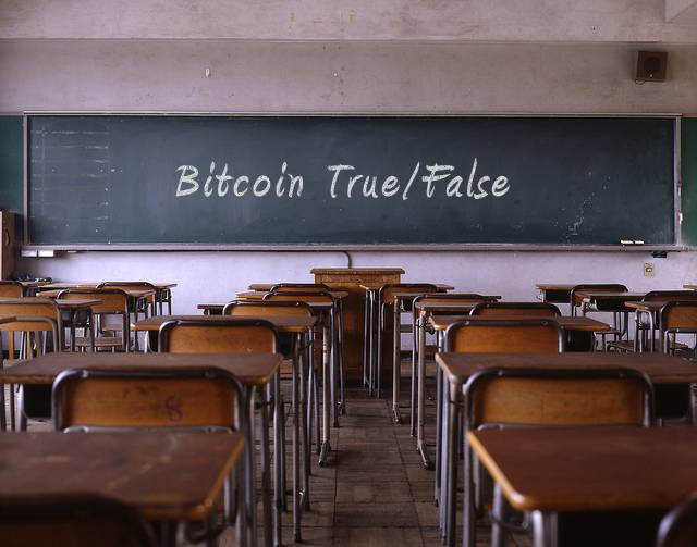 bitcoin true false