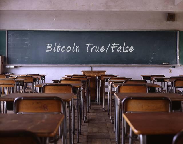bitcoin true false