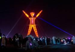 Burning Man bitcoin