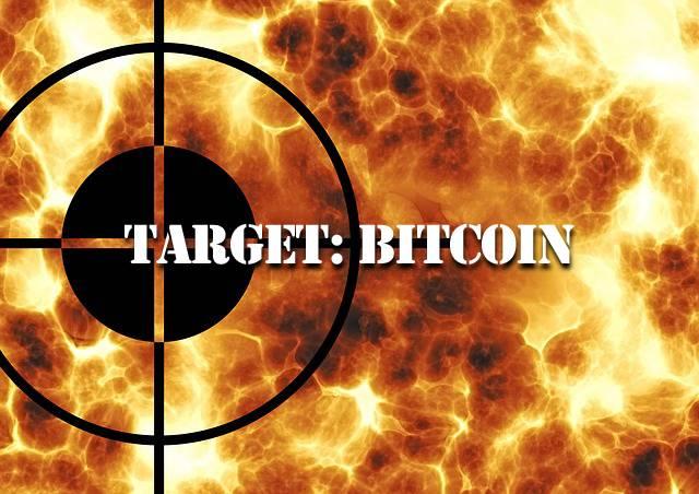 target bitcoin