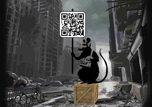 Bitcoin Inspires Digital Art Based On Qr Codes Inside Bitcoins News Price Events Inside