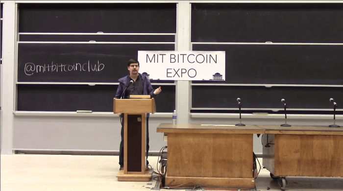 Gavin Andresen MIT Bitcoin Expo