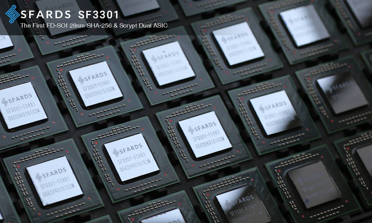 Sfards Shares Chip Test Results, Will Open Source Design