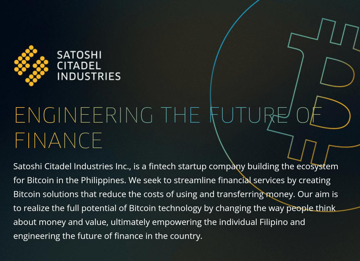Satoshi Citadel Industries Acquires BuyBitcoin.ph