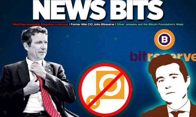 News Bits on: The Bitcoin Foundation is broke