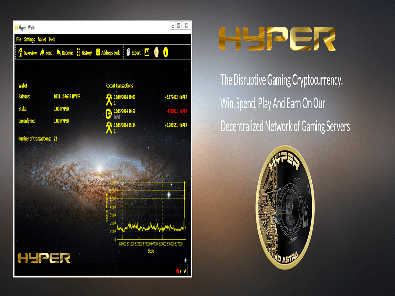 HYPER, GoldPieces Sponsor Crowdfunding Project, Launch Crypto Gaming Network