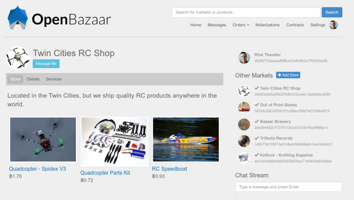 OpenBazaar Silk Road