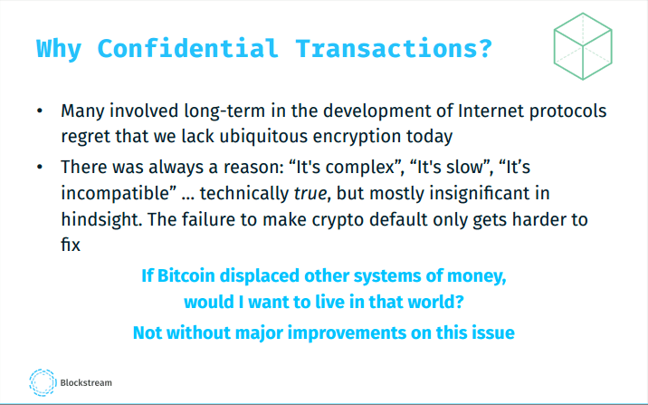 Blockstream Wants to Make Bitcoin More Private with Confidential Transactions