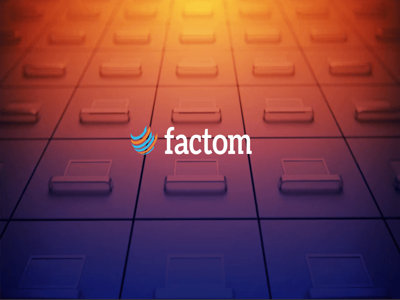 <bold>Factom</bold> Experiences Groundbreaking Fundraising Round, Releases Beta