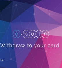 New E-Coin Cards Denominated in Three Major Fiat Currencies