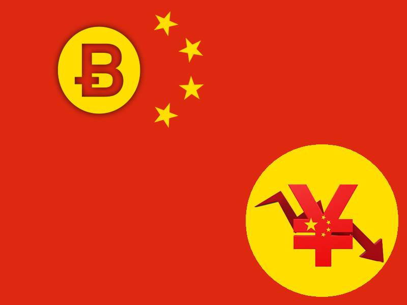 Is China Turning To Bitcoin As Yuan Devalues?