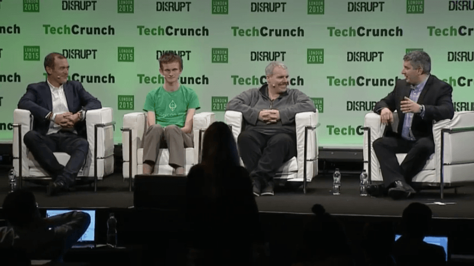 TechCrunch Disrupt Blockchain vs Bitcoin