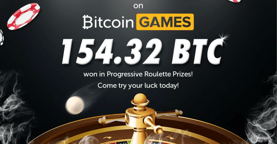 Bitcoin Games Weekly Payout Hits 154.3 BTC in One Week