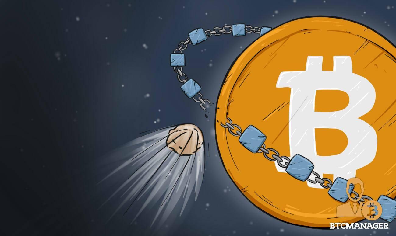 A Security Threat to the Bitcoin Blockchain?