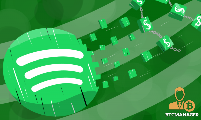 Spotify Acquires Blockchain Startup Mediachain to Improve Royalties Distribution