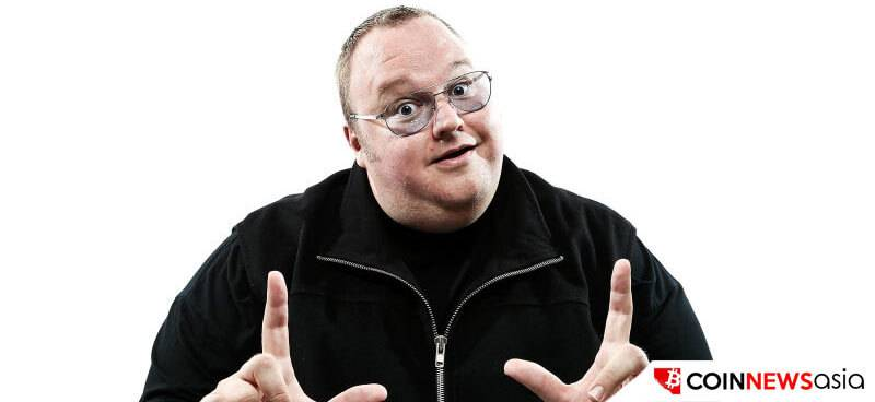 Bitcoin Project Declared by Kim Dotcom for Content Creators