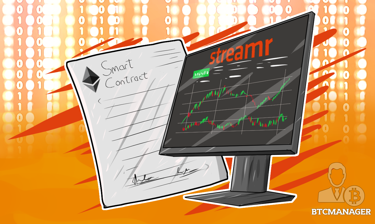 Streamr Implements Ethereum Smart Contracts to Display US Stock Data