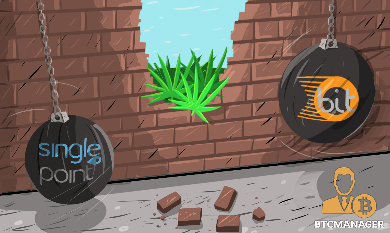 SinglePoint To Develop A Safe Bitcoin Payment Solution For The Cannabis Industry