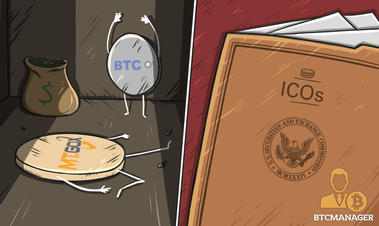 BTC-E Domain Seized, ICOs in the SEC's Crosshairs: BTCManager's Week in Review July 31