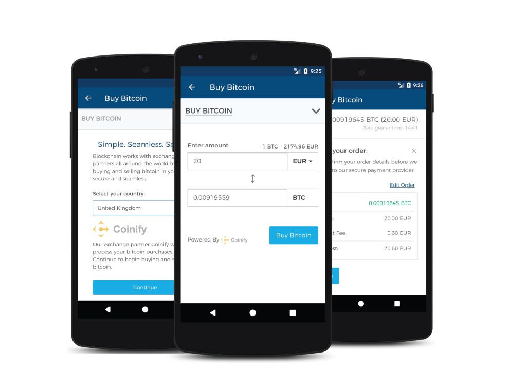 Our Android users in Europe can now buy bitcoin