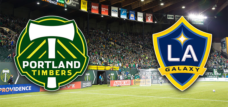 Exciting Sunday of Major League Soccer as the Portland Timbers Host LA Galaxy at Home
