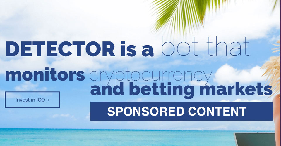 DetectorToken – Blockchain Based Bot ICO went LIVE with 25% BONUS!