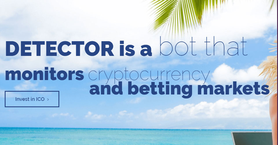 DetectorToken - Blockchain Based Bot ICO went LIVE with 25% BONUS!