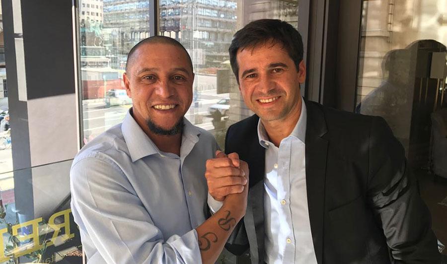 Roberto Carlos and Marko Filej