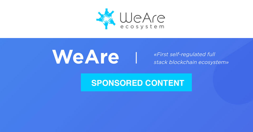 WeAre is the first self-regulated full stack blockchain ecosystem