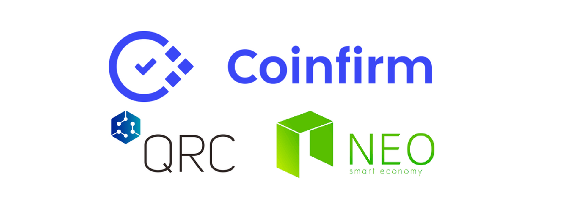 Blockchain Leaders Coinfirm, NEO and QRC Partner to Build Smart Economy Ecosystem