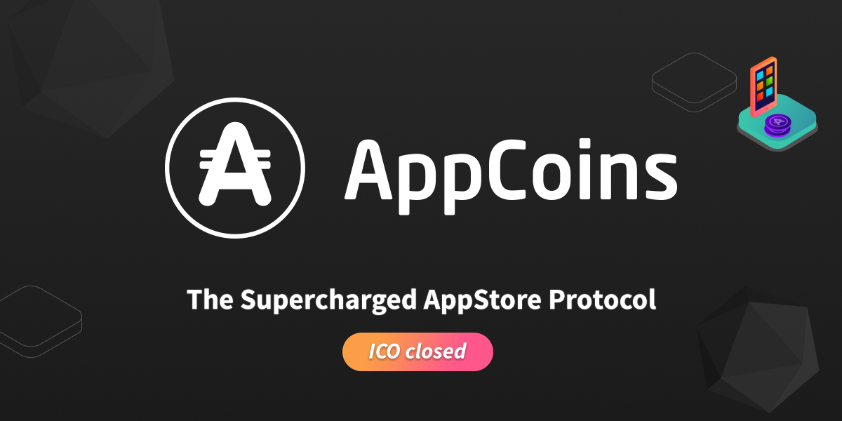 AppCoins Reaches Hard Cap To Conclude It's Token Sale