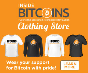 Inside Bitcoins T-shirts