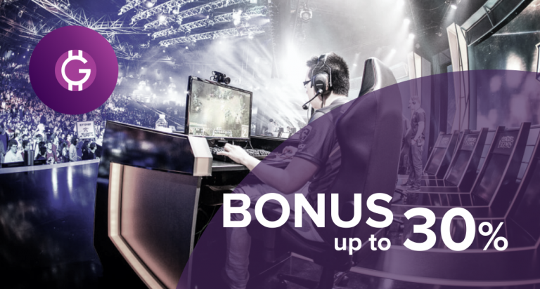 PR: Gaming Platform Game Stars Launches Token Sale. Hurry up and Get 30% Bonus