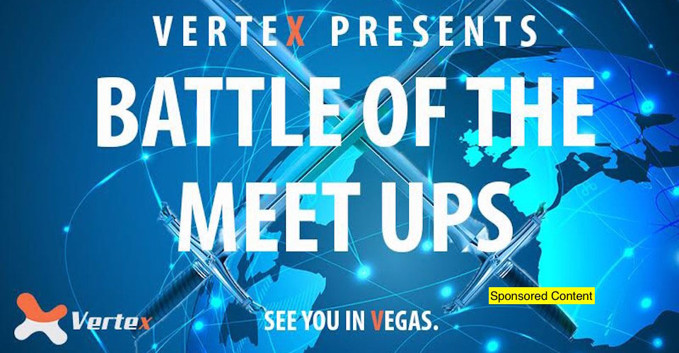 Vertex To Launch Its Meetup Competition Sponsoring 25 Bitcoin Meetups Around The World!