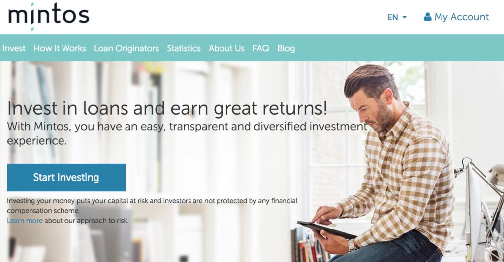 Mintos P2P Lending Marketplace