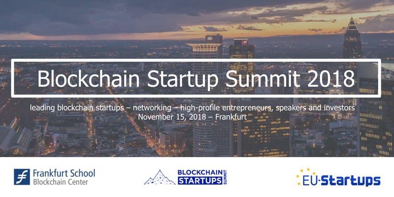Blockchain Startups Summit 2018