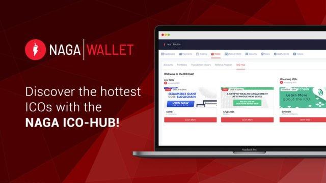 NAGA Introduces New ICO-Hub