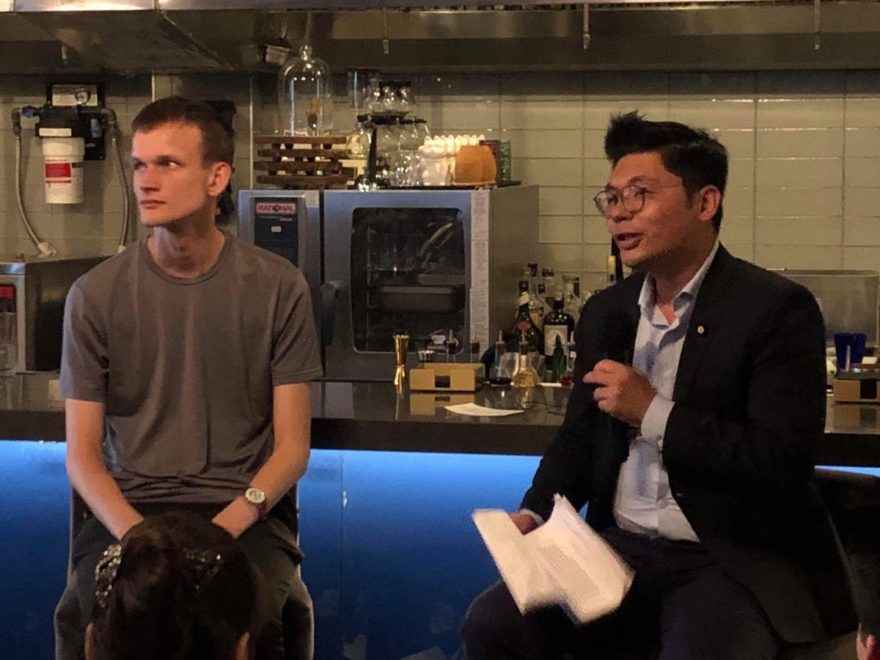 Hsu is also fairly friendly with Buterin, having been introduced after publicly asking the Ethereum founder to support blockchain and cryptocurrency in Taiwan.