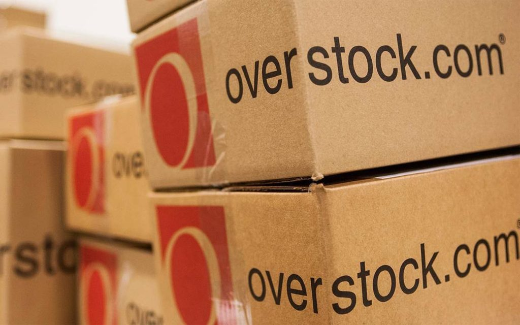 Investment Into Overstock's Cryptocurrency Exchange Causes Share Price to Rocket