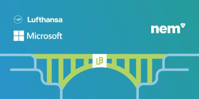 Unibright Partners with Lufthansa, Microsoft, and NEM to Build a Bridge Between Different Industries