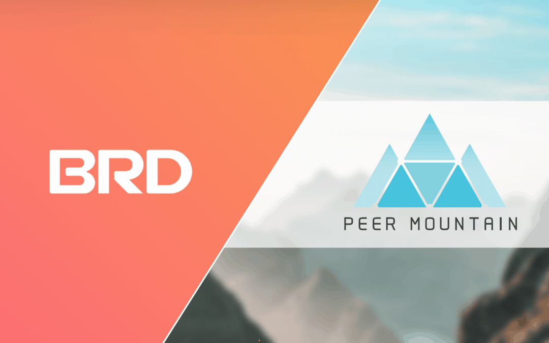 Peer Mountain and BRD Partnership Offers Direct Access to 1.4 million BRD Wallet Users