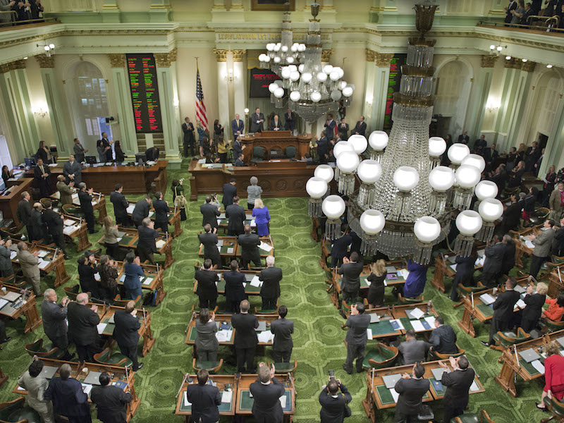California Assembly in session