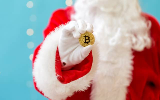 santa rally bitcoin price cryptocurrency