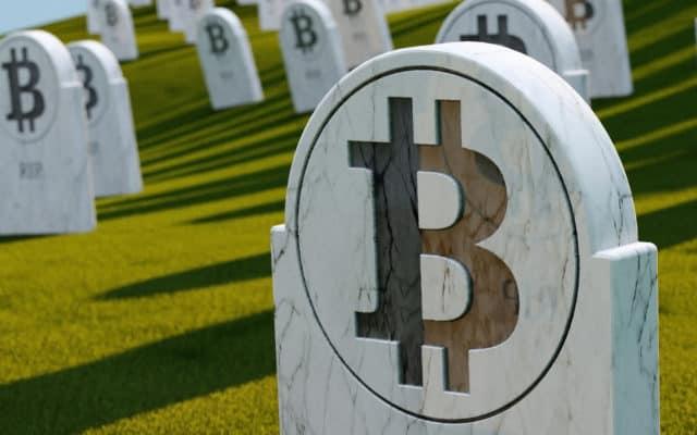Bitcoin died dead bitcoin obituaries