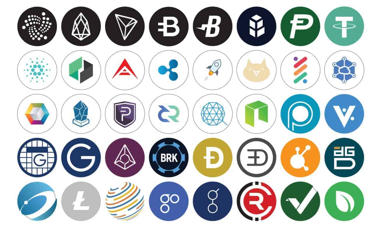 NEO DOGE EOS altcoins