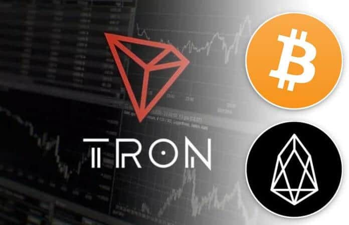 Bitcoin and TRON transfers followed