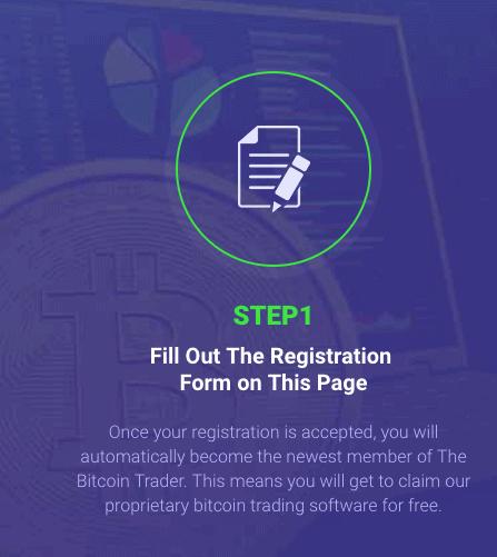 register a Bitcoin Formula account