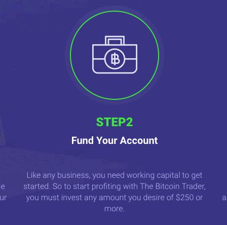deposit Bitcoin Formula